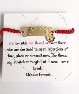 Friendship Red String Bracelets Endless Love - Pulseras de Hilo Rojo