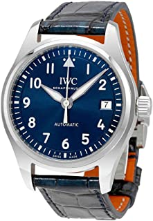 Pilots Automatic Midsize Blue Dial Unisex Watch IW324008