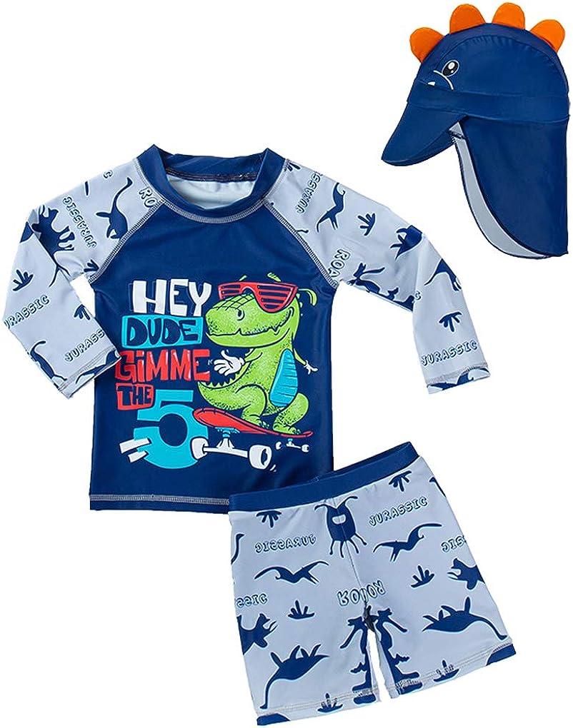 Baby Phoenix Mall low-pricing Toddler Boys Two Pieces Set Bath Swimwear Swimsuit Dinosaur