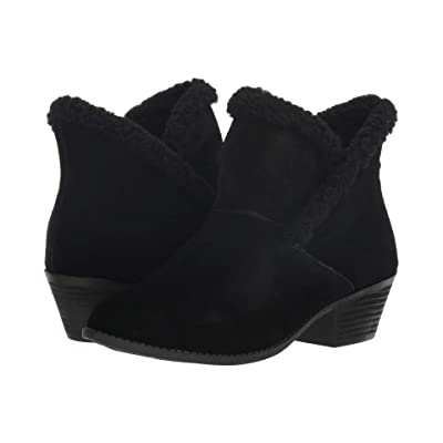 Me Too Zanna (Black Oiled Suede/Shearling) Women