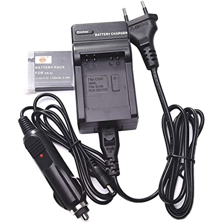 Dste Ersatz Batterie Und Dc23e Reise Ladegerät Kamera