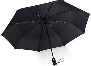 HSX_Z Windproof Travel Umbrella with Teflon Coating Black