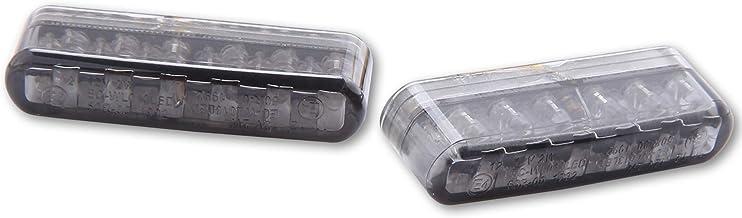 Shinyo Motorradblinker Led Einbaublinkerpaar Shorty Getöntes Glas Auto