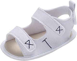 ボコダダ(Vocodada)サンダル 女の子 ビーチサンダル キッズ 子供靴 通気 軽量 可愛い キッズシューズ 履きやすい 夏用 通学 ビーチ ソフトボトム??乳児靴 赤ちゃん 刺繍 パターン 滑り止め