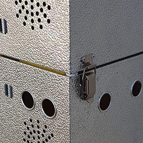 Breker Aluminium Transportkorb 12 Abteilungen - 5
