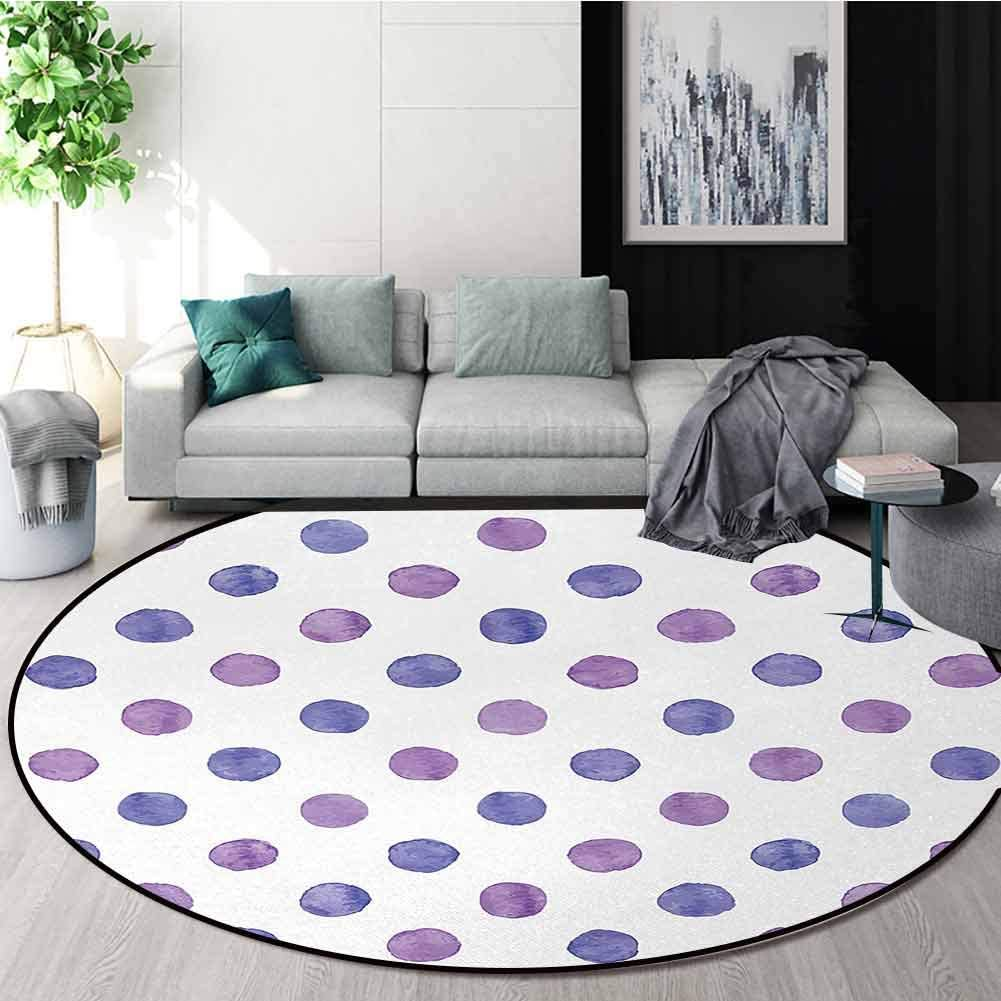 New arrival Purple Area Rugs Traditional Design Nosta Watercolor Paint famous Style