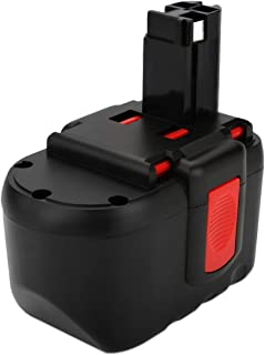 Exmate 24V 3.5Ah Ni-MH Replacement Battery Compatible with Bosch BAT030 BAT031 BAT240 BAT299 BH-2424 BTP1005 GLI24V GMC24V GSR 24VE-2 GBH24VF GSA24V