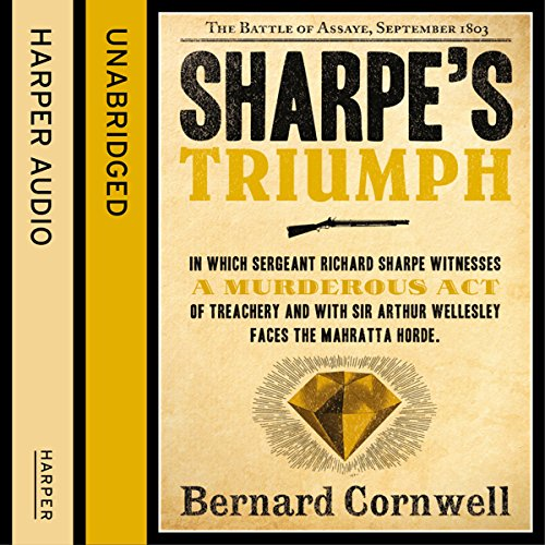 Sharpe's Triumph: The Battle of Assaye, September 1803 (The Sharpe Series, Book 2) audiobook cover art