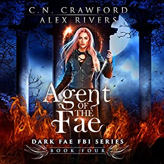 Agent of the Fae     Dark Fae FBI, Book 4              Written by:                                                                                                                                 Alex Rivers,                                                                                        C. N. Crawford                               Narrated by:                                                                                                                                 Amanda Dolan                      Length: 9 hrs     Not rated yet     Overall 0.0