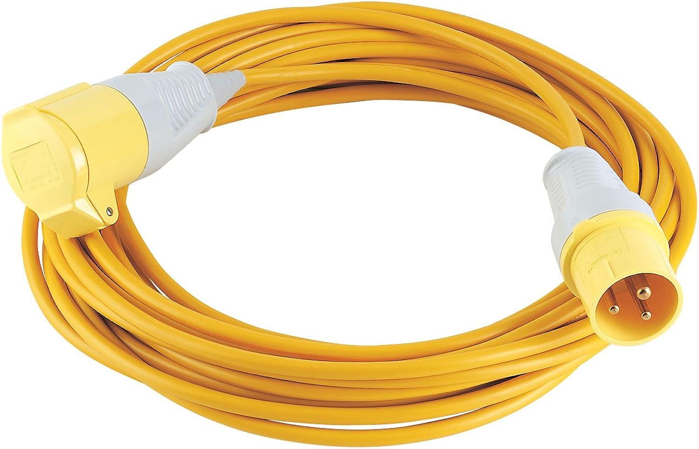 DRAPER DRAPER DRAPER 17570 Verlängerungskabel, 110 V, gelb, 14 m x 1,5 mm B01MT0OIA8 | Up-to-date Styling  17cedb