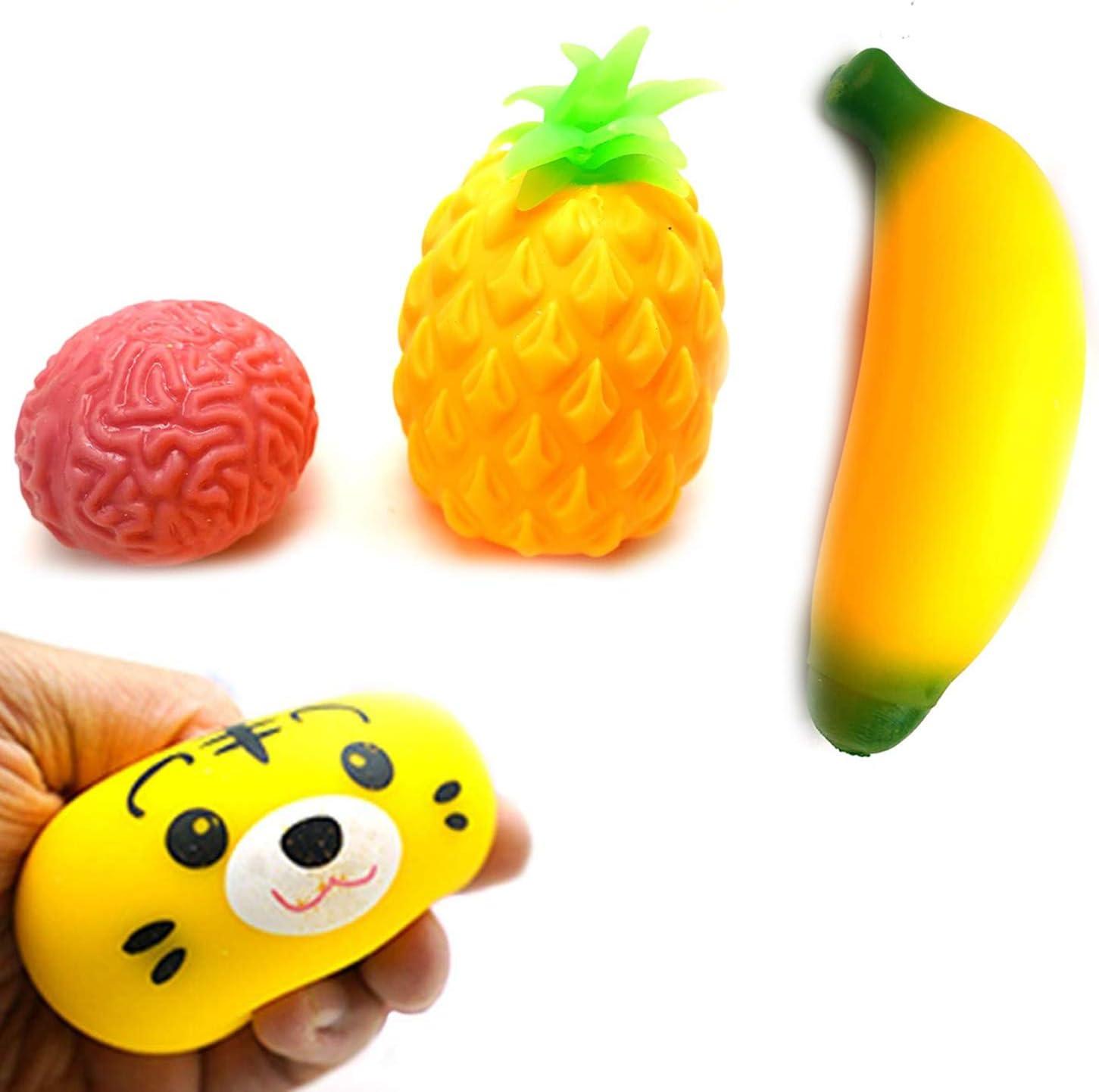 Gosu Toys Stress Dough Friends Soft Stress Balls Stretchy Dough Ball!