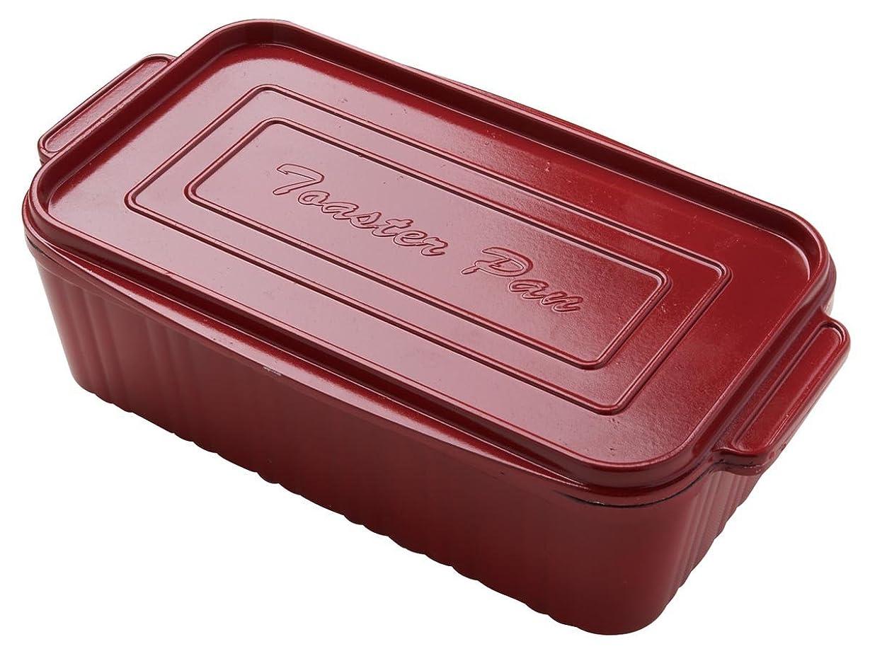 かる繁殖ピーク葛恵子のトースタークッキング専用 トースターパン レッド 76000