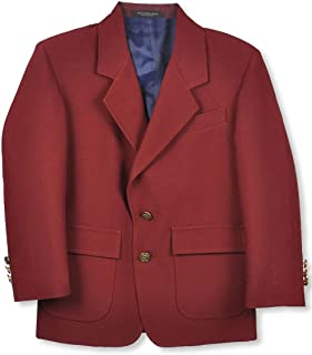 Single-Breasted Unisex School Blazer