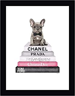Grey Frenchie Bookstack by Amanda Greenwood 16
