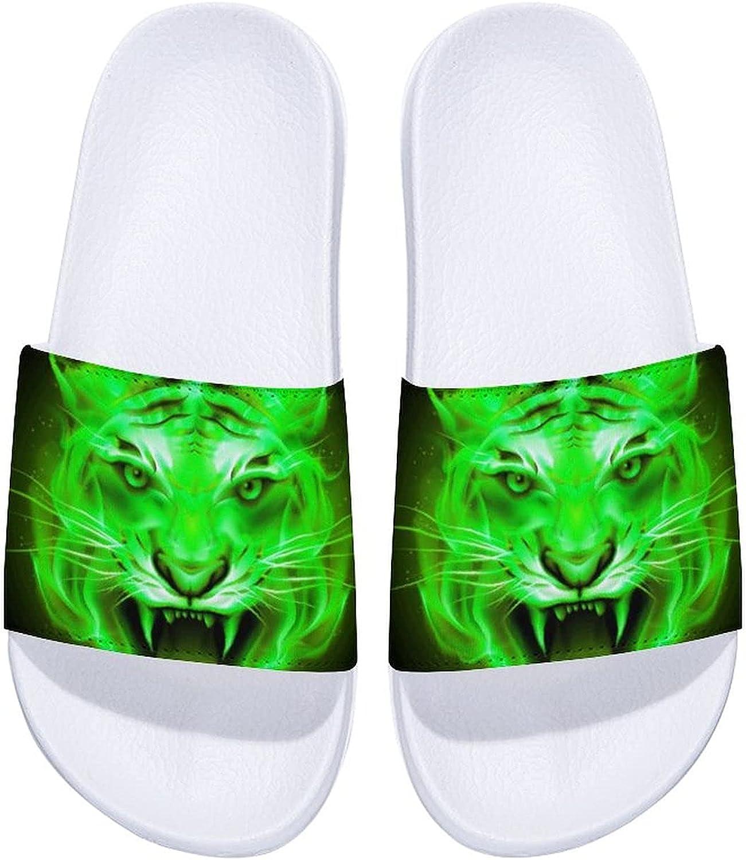 Fair Tiger Head Men's and Women's Max 4 years warranty 85% OFF Slide Indoor O Comfort Sandals