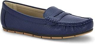 Ceriz Women's Navy Loafers