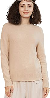 Zhili Women's Original Design Roll Neck Sweater with 100%...