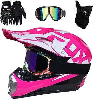 654c4fd4b5 QYTK® Série MT-513 Casco Motocross, Off-Road Scooter Racing Motocicleta  Casco