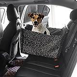 Housse de Siège Avant Auto pour Chien/Chat,Siège d'appoint de voiture pour le chien,Housse de transport pour animal domestique, Siège de Voiture de Sécurité, 53 * 60 * 35 cm