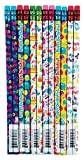Raymond Geddes Birthday Number 2 Pencils For Kids (Pack of 72)