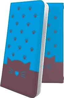 X02HT ケース 手帳型 猫耳 ねこみみ ねこ 猫 猫柄 にゃー エックスエイチティー 手帳型ケース キャラクター キャラ キャラケース x01 ht ハート love kiss キス 唇