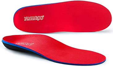 Shoe Insoles Arch Support Inserts Orthotic Insoles for Plantar Fasciitis, Flat Feet, High..