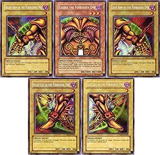 Yu-Gi-Oh EXODIA 35 Card Lot! Rare Cards! Exodia Cards Guaranteed!