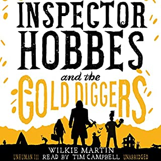 Inspector Hobbes and the Gold Diggers audiobook cover art