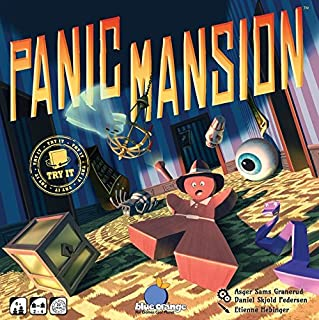 Blue Orange Panic Mansion Game