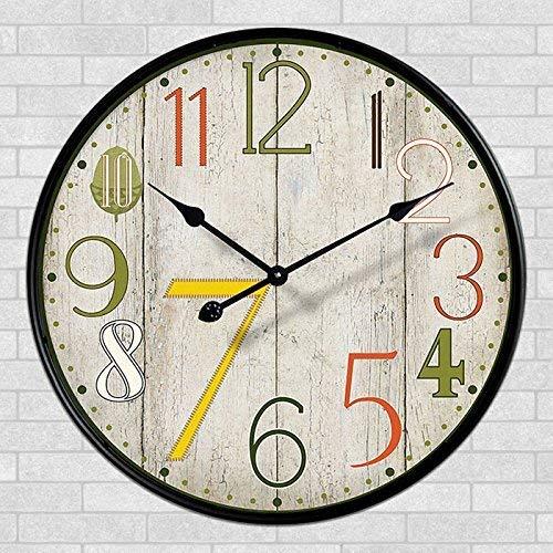 HYY-YY Estilo Negrita Cuarzo clásico Reloj de Pared Grande Ideas salón de...