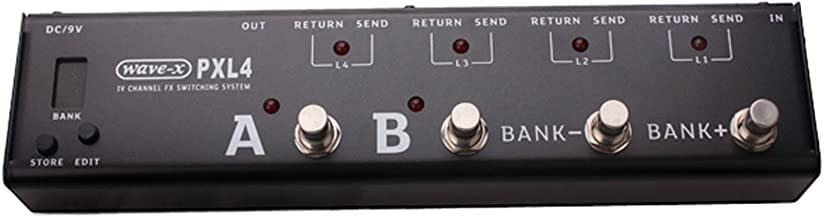pxl4 effects pedal switching system
