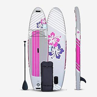 """Uppblåsbar Stand Up Paddle Board,SUP Surfboard Set,6""""tjock,kajak,för alla nivåer vuxna barn,med tillbehörspaddla,reparatio..."""