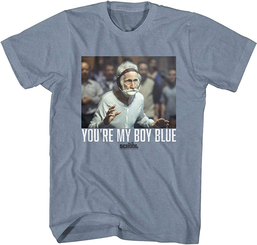American Classics Old School Movie You're My Boy Blue Short Sleeve T-Shirt Graphic Tee