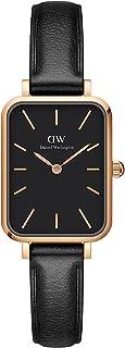 Daniel Wellington Quadro Sheffield Watch, Italian Black Leather Band, 20x26mm