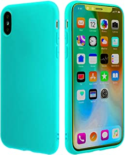 Thin Case,Compatible with Thin iPhone XR Case Cover Ultra Slim Fit [Ultra-Thin] & [Soft Touch] Durable Light Shockproof Shell Soft TPU Silicone Gel Bumper Compatible with iPhone XR (2018) (Teal)