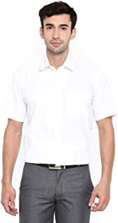Chennis White Short Sleeve Regular Fit Shirt