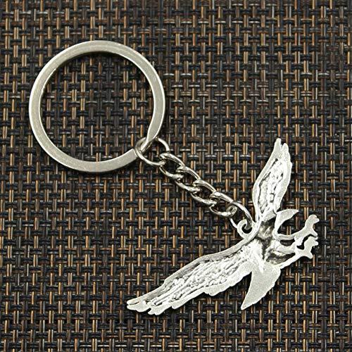 N/ A Mode Schlüsselring Metall Schlüsselanhänger Schlüsselbund Schmuck Antik versilbert Falke Adler Anhänger