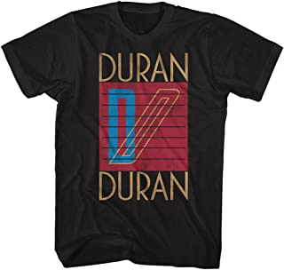 Duran Duran Men's Logo T-Shirt XXXX-Large Black