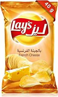 Lays French Cheese Potato Chips, 40 gm
