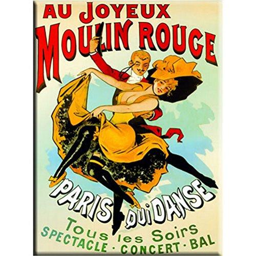 Magnet metal Paris Moulin Rouge