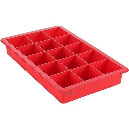Clazkit Silicone Ice Tray, Multicolor