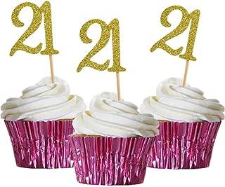 Best golden 21st birthday Reviews