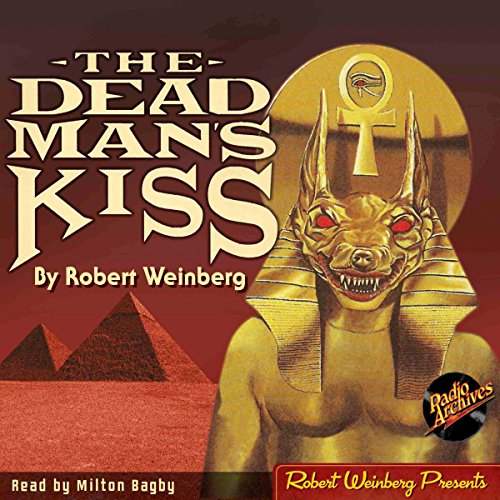 The Dead Man's Kiss audiobook cover art