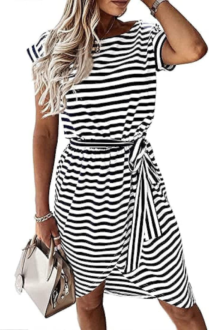 Loyomobak Summer Dresses for Women Casual Dealing full price reduction Sundress Beach Dress S Opening large release sale