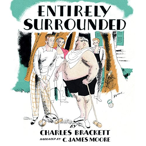 Entirely Surrounded audiobook cover art