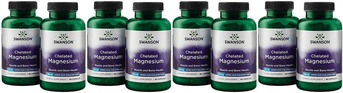Swanson Chelated Max latest 69% OFF Magnesium 133 Milligrams Capsules 2 180 Bottles