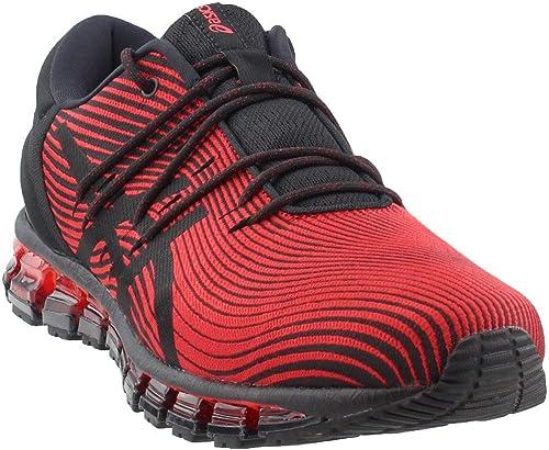ASICS Men's Gel-Quantum 360 4 Running zapatos,rojo Alert negro, 9.5 D(M) US