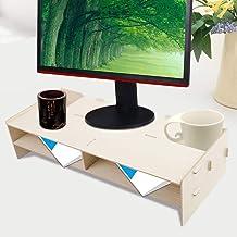 Yinuoday Laptop Stand Moderne Computer Monitor Laptop Stand Perfect voor het opslaan van Documenten Tijdschriften