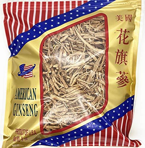 President Brand American Ginseng SKU 0170PB-MIX8-B |Wisconsin Ginseng Root |Culticate Ginseng Root|????????|????????|Nhân Sâm M? |????|Prong Ungraded| 8oz Bag, ????