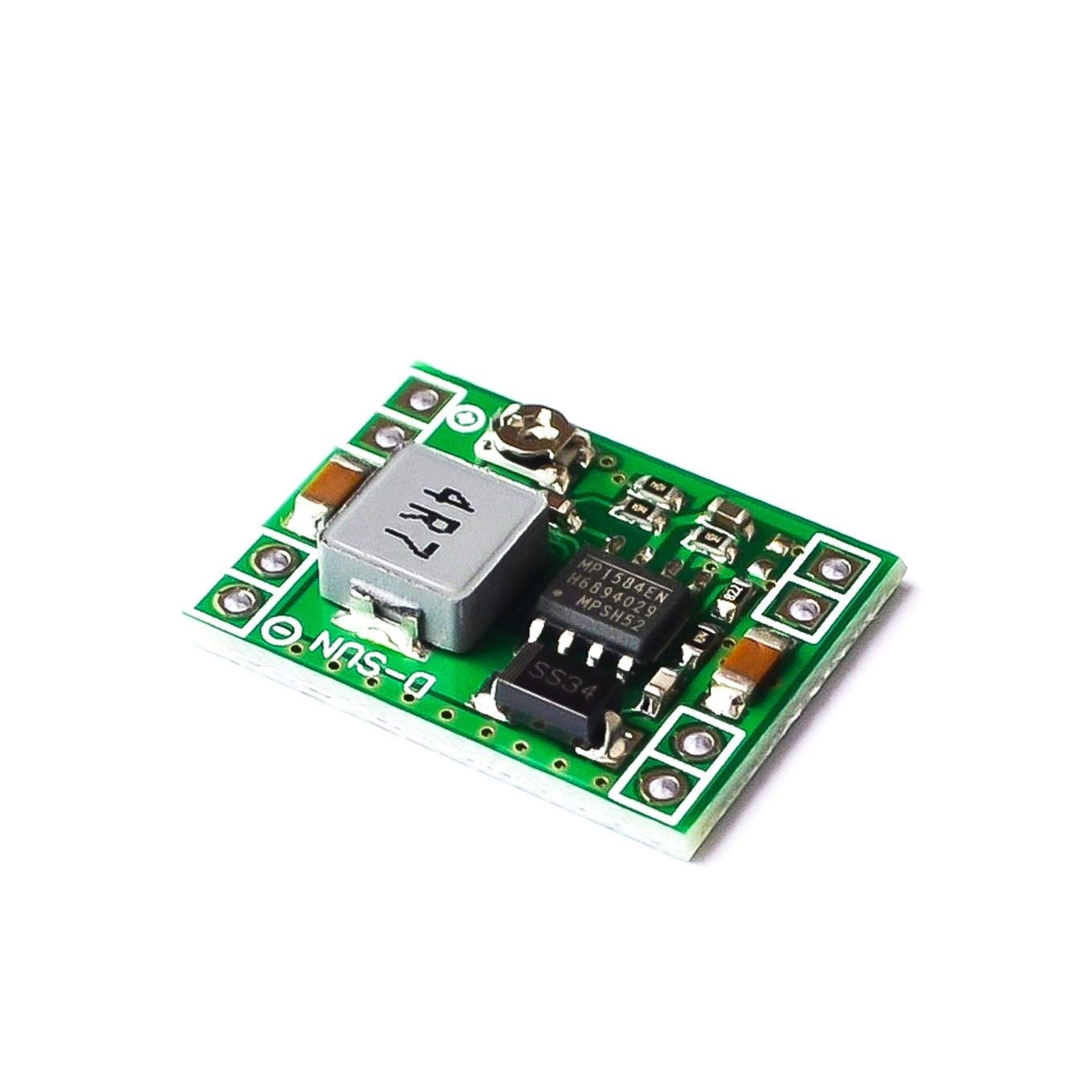 1000PCS Ultra-Small Size DC-DC Step Down Power Supply Module MP1584EN 3A Adjustable Buck Converter for Arduino Replace LM2596